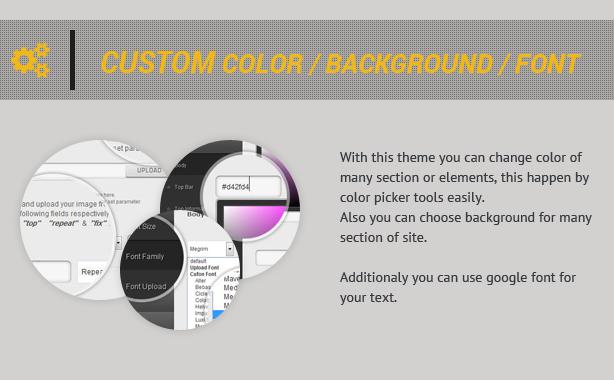 Yellow Bird - multipurpose onepage theme
